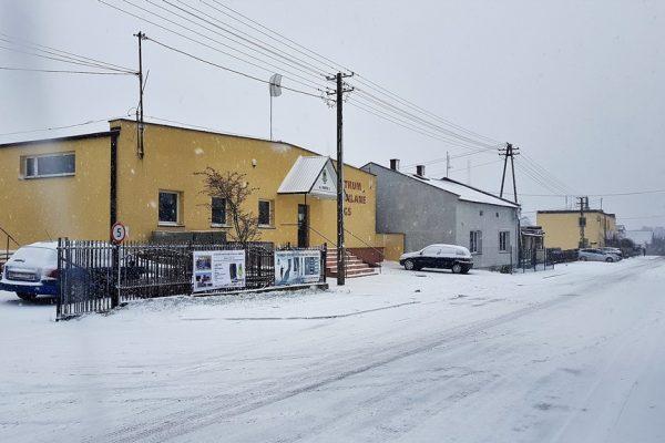 Centrum Budowlane GS zima